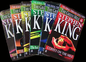 The Green Mile - 1st edition paperback covers