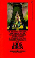 The Long Walk - Stephen King 1st edition cover